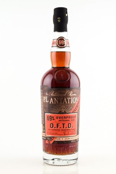 Plantation O.F.T.D. Overproof 69%vol. 0,7l