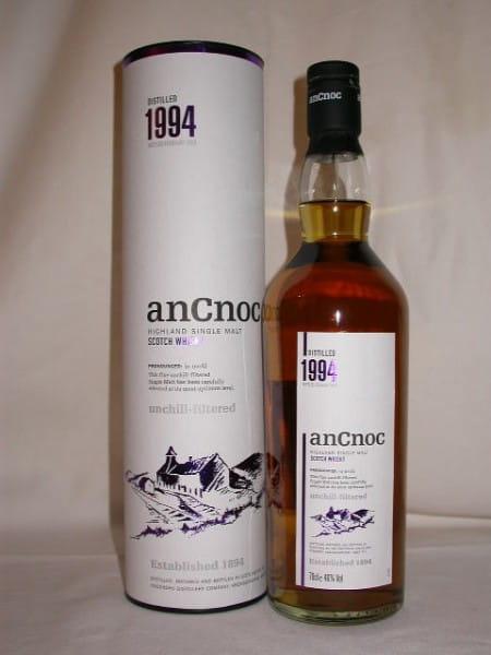 An Cnoc 1994/2008 46%vol. 0,7l