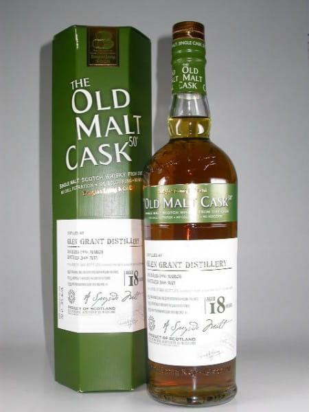 """Glen Grant 18 Jahre 1990/2008 Douglas Laing """"Old Malt Cask"""" 50%vol. 0,7l"""