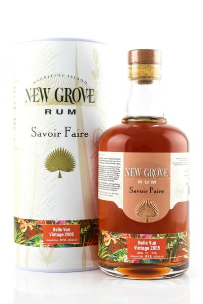 New Grove Savoire Faire Belle Vue Vintage 2005 45%vol. 0,7l