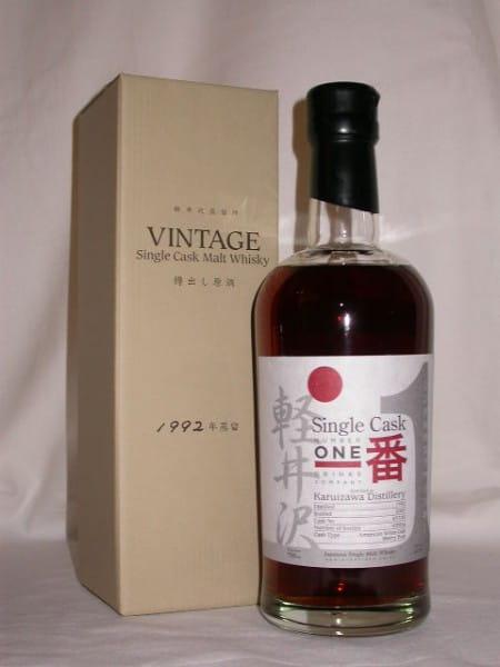 Karuizawa 1992/2007 Single Cask No. 3330 61,5%vol. 0,7l