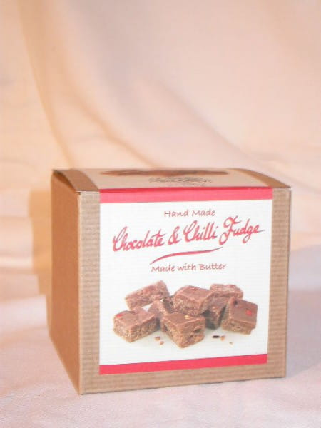 Chocolate & Chilli Fudge 150g