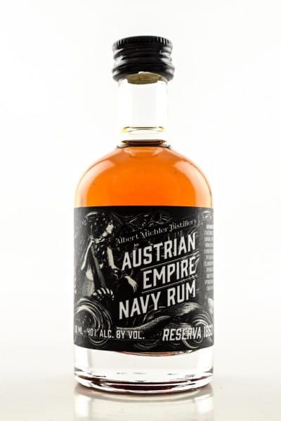 Austrian Empire Navy Rum Reserve 1863 40%vol. 0,05l