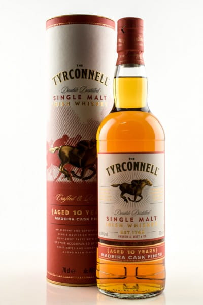 The Tyrconnell 10 Jahre Madeira Casks Finish 46%vol. 0,7l