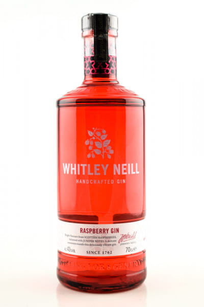 Whitley Neill Raspberry Gin 43%vol. 0,7l