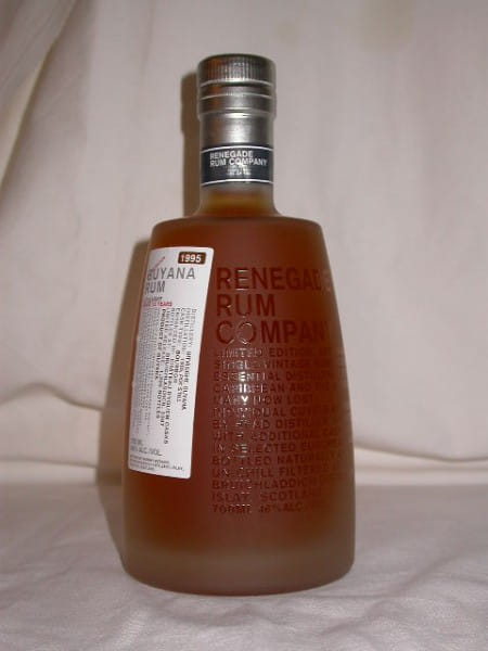 Guyana Rum Uitvlught-Port Morant 1995/2007 Murray McDavid 46%vol. 0,7l