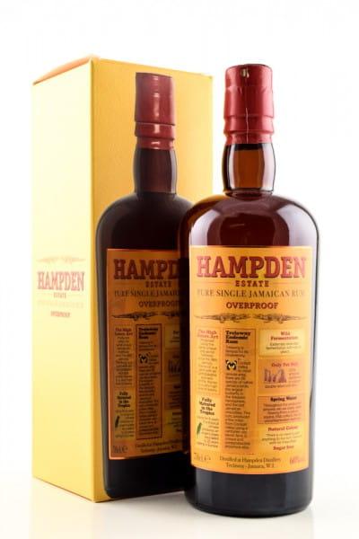 Hampden Estate Pure Single Rum Overproof 60%vol. 0,7l