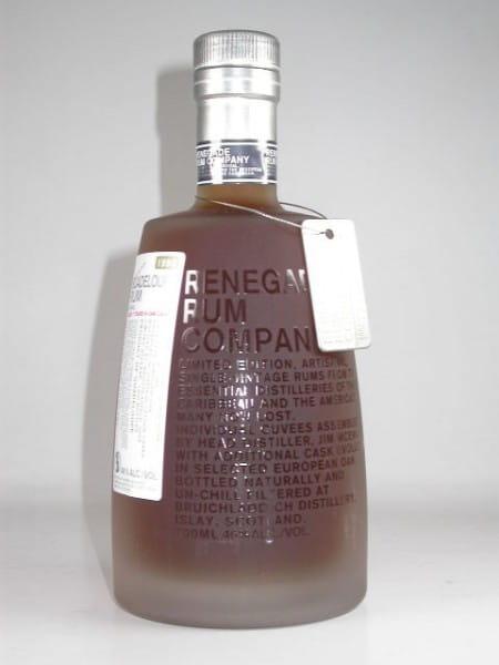 Guadeloupe Rum Gardel 1998/2009 Renegade Rum Co. 46%vol. 0,7l