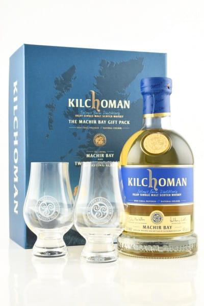 Kilchoman The Machir Bay Gift Pack 46%vol. 0,7l inkl. 2 Gläser