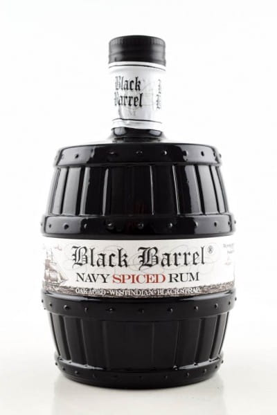 A.H. Riise Black Barrel Navy Spiced Rum 40%vol. 0,7l
