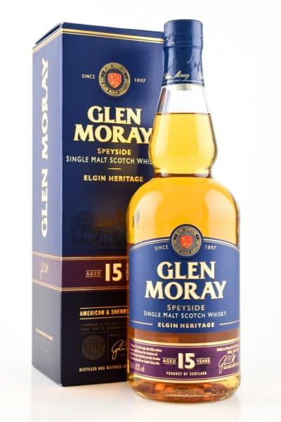 Glen Moray 15 Jahre 40%vol. 0,7l