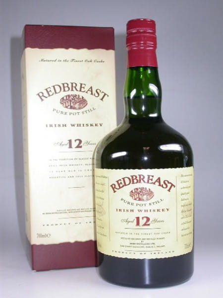 Redbreast 12 Jahre Pure Pot Still 40%vol. 0,7l - altes Design