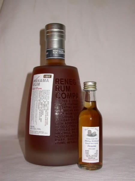 Panama Rum Don José-Pesé 1997/2007 Murray McDavid 46%vol. Sample 0,05l