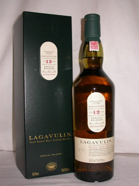 Lagavulin 12 Jahre Special Release 2007 56,4%vol. Sample 0,05l
