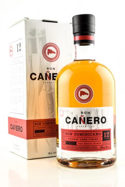 Canero 12 Jahre Cognac Cask Finish 43%vol. 0,7l
