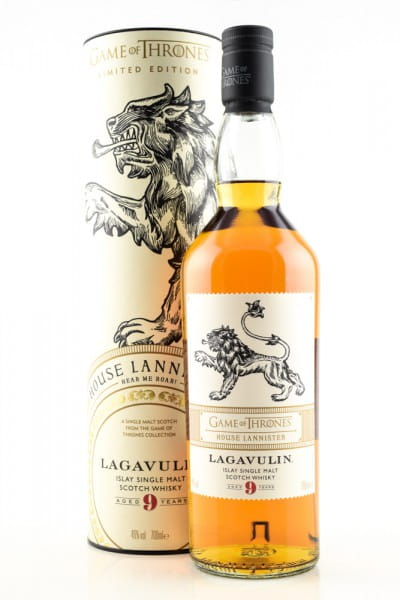 Game of Thrones House Lannister & Lagavulin 9 Jahre 46%vol. 0,7l