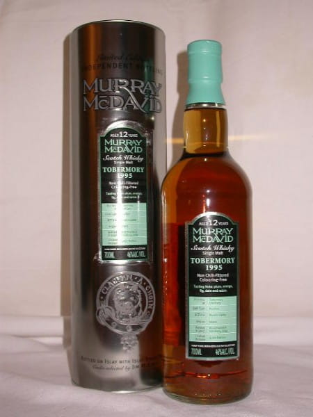 *Tobermory 1995/2007 Bourbon/Madeira Murray McDavid 46%vol. 0,7l