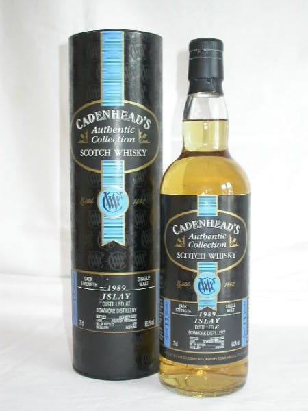 Bowmore 1989/2002 Cadenhead 60,2%vol. 0,7l