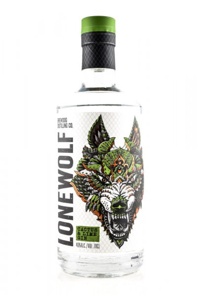 LoneWolf Cactus & Lime Gin 40%vol. 0,7l