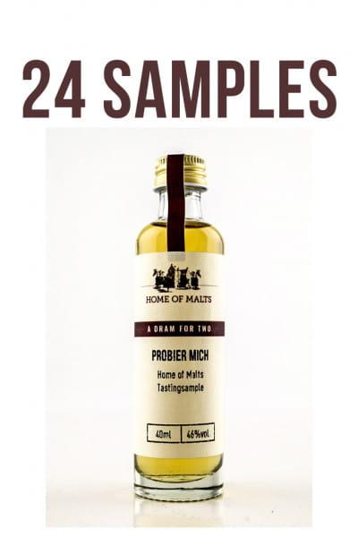 Whisky Adventskalender Füllung 24 x 0,04l