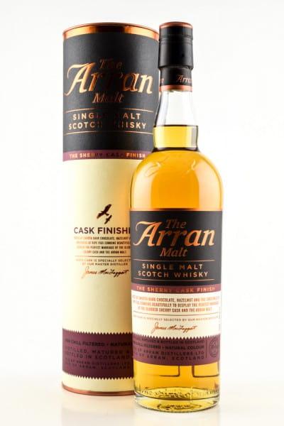 Arran Cask Finish Sherry 46%vol. 0,7l