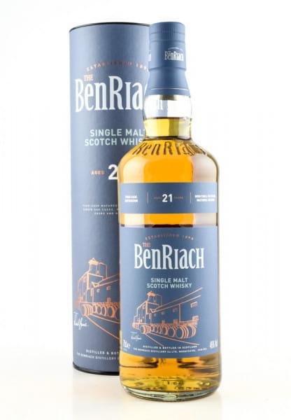 Benriach 21 Jahre 46%vol. 0,7l