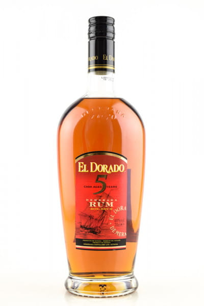 El Dorado 5 Jahre 40%vol. 0,7l