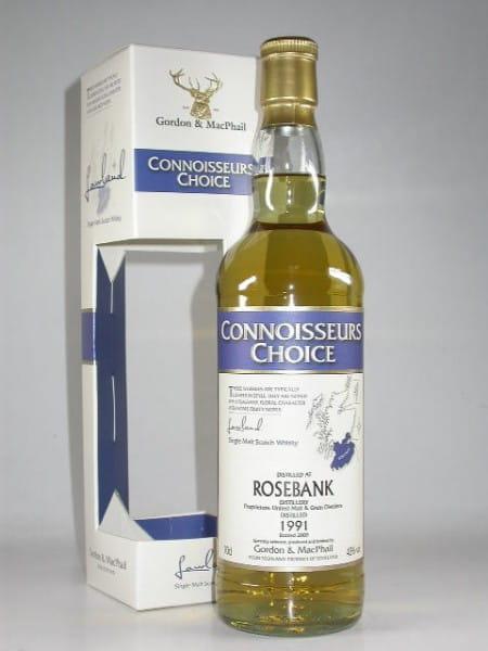 Rosebank 1991/2009 Gordon & MacPhail Connoisseurs Ch. 43%vol. 0,7l