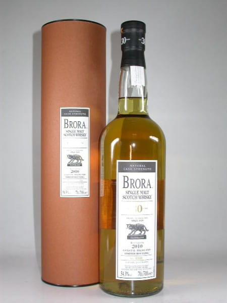 Brora 30 Jahre Bottled 2010 Natural Cask Strength 54,3%vol. 0,7l
