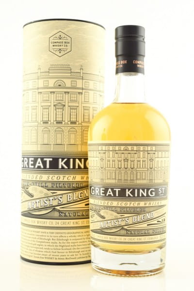 Great King Street - Artist's Blend Compass Box 43%vol. 0,5l