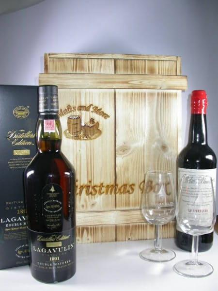 Christmas Box Lagavulin - The Pedro Ximénez Double inkl. Gläser (Branding)