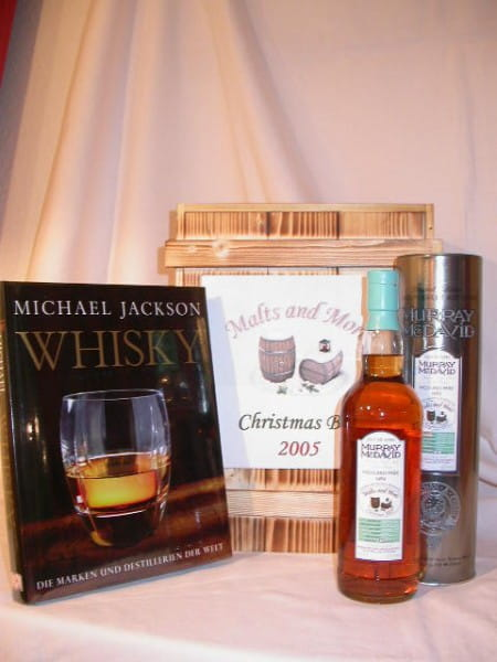 Christmas Box Malts and More Highland Park + Whisky-Buch