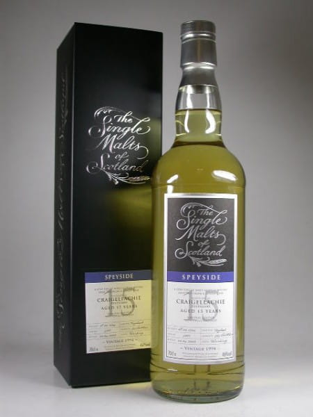 "Craigellachie 15 Jahre 1994/2009 ""The Single Malts of Scotland"" 46%vol. 0,7l"