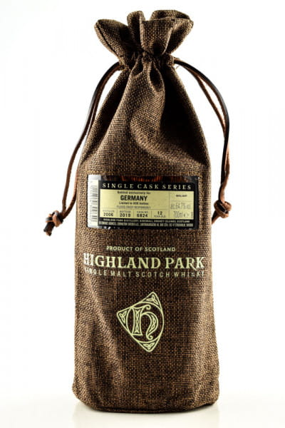 Highland Park for Germany Refill Butt #6824 64,7%vol. 0,7l