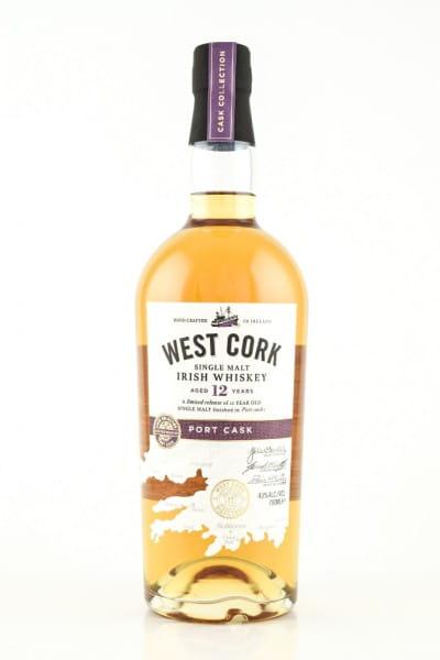 West Cork 12 Jahre Port Cask 43%vol. 0,7l