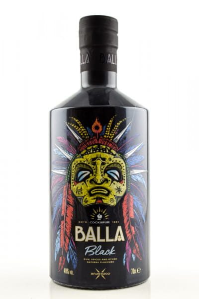 Balla Black Spiced Rum 40%vol. 0,7l