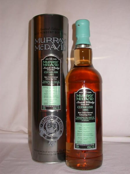 Clynelish 1995/2007 Bourbon/Port Murray McDavid 46%vol. 0,7l