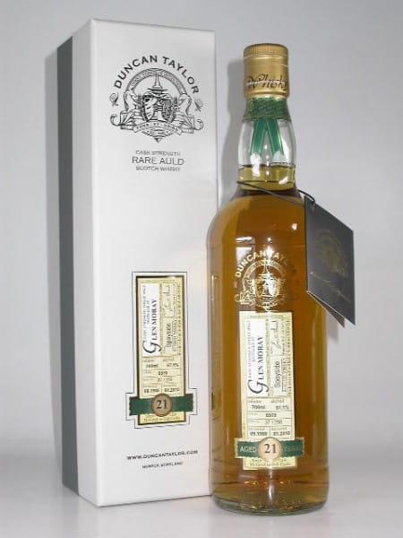 Glen Moray 21 Jahre 1988/2010 Rare Auld Duncan Taylor 57,1%vol. 0,7l