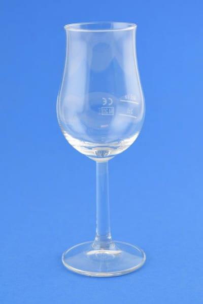 Nosing-Glas Tulpe - neutral, mit Eichstrichen