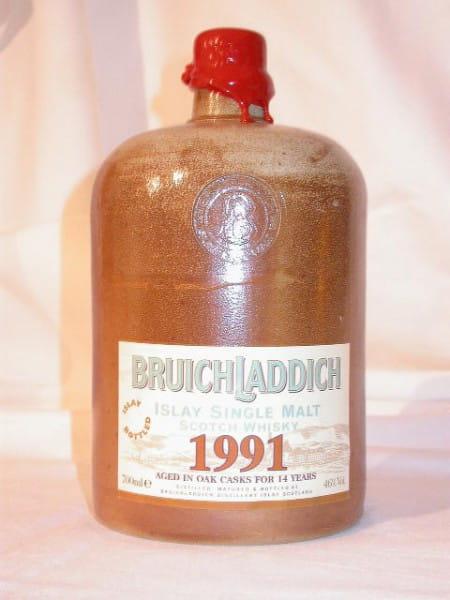 Bruichladdich 1991/2005 Steinkrug 46%vol. 0,7l