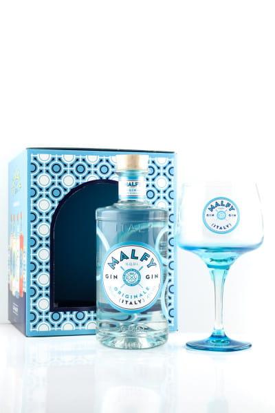 Malfy Gin Originale 41%vol. 0,7l - Geschenkset mit Glas