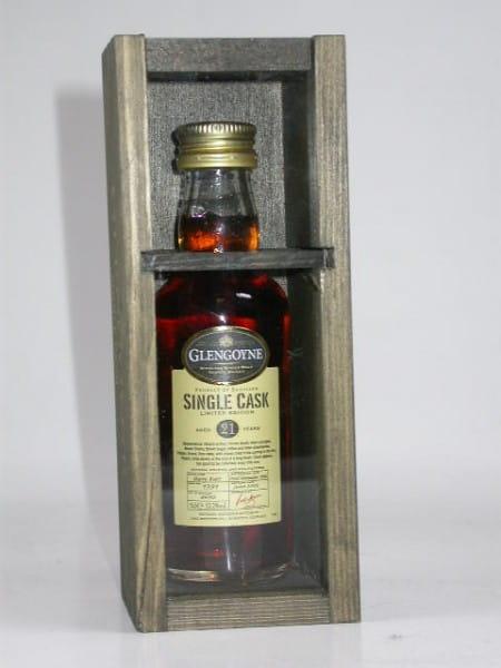 Glengoyne 21 Jahre 1986/2008 Sherry Butt Single Cask 52,2%vol. 0,05l