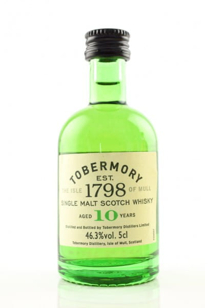 Tobermory 10 Jahre 46,3%vol. 0,05l