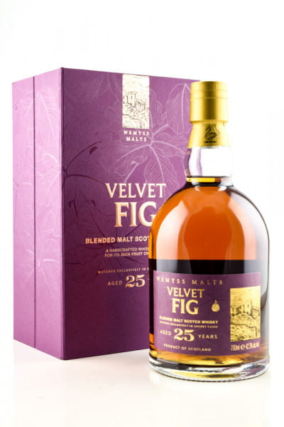Velvet Fig 25 Jahre Blended Malt Scotch Whisky Wemyss Malts 42,3%vol. 0,7l