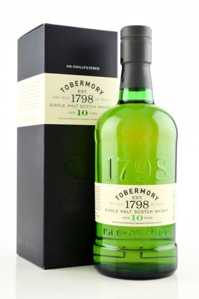 *Tobermory 10 Jahre 46,3%vol. 0,7l - ohne Geschenkpackung