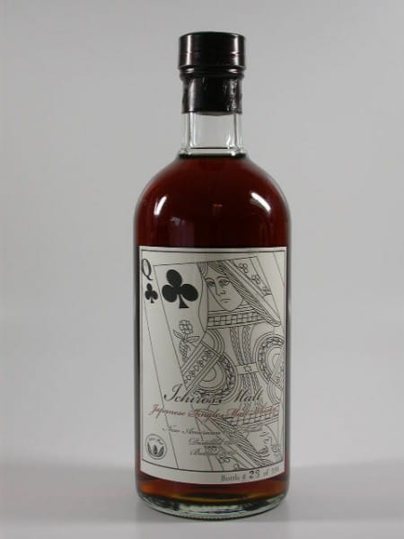 "Hanyu-Ichiro's Malt ""Queen of Clubs"" 88/08 Single Cask #7003 56%vol. 0,7l"