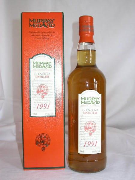 Glen Elgin 1991/2004 Refill Sherry Murray McDavid 46%vol. Sample 0,1l