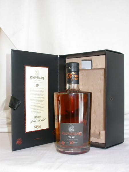 Arran 10 Jahre 1995/2005 Anniversary Bottling 46%vol. 0,7l