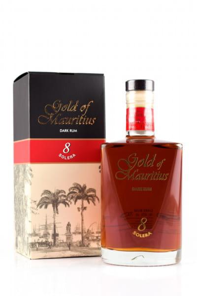 Gold of Mauritius 8 Jahre Dark Rum 40%vol. 0,7l