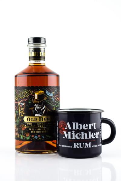 Old Bert Jamaican Spiced Rum 40%vol. 0,7l mit Becher